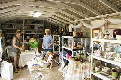 Vintage Thrift Shop Interior